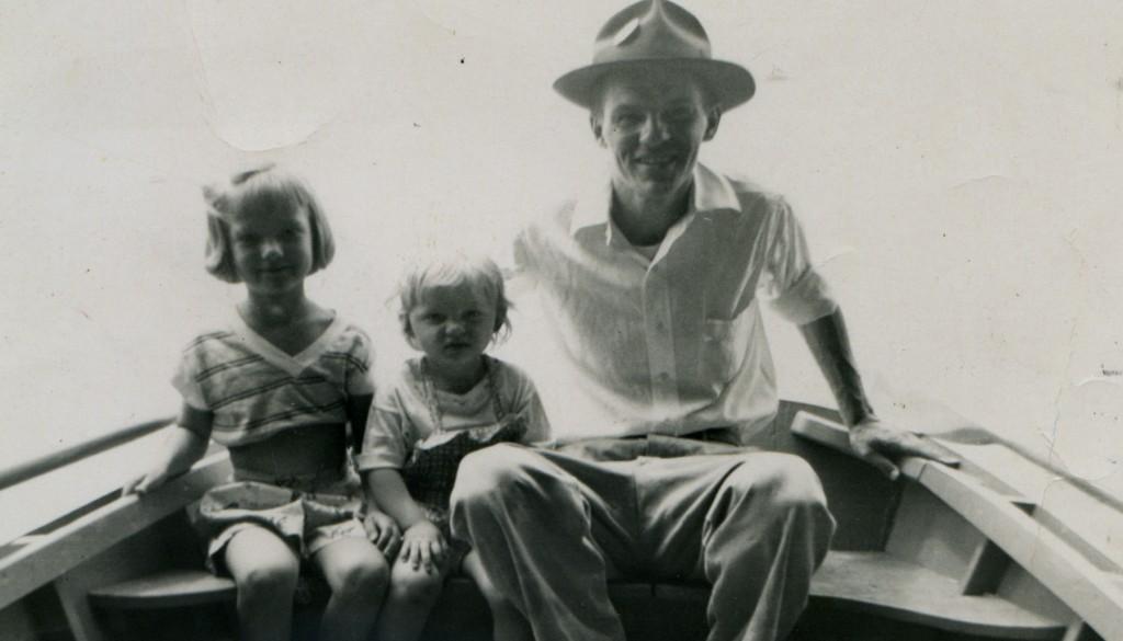Susan_Linda_and_Stanley_Brown_fishing_1952_cropped